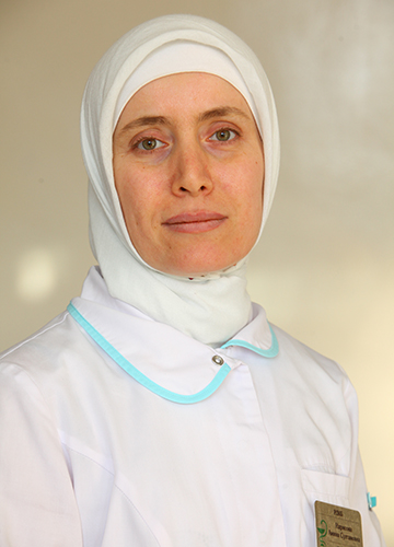 ИДРИСОВА АМИНАТ СУЛТАНОВНА<br>Заместитель главного врача по лечебной части