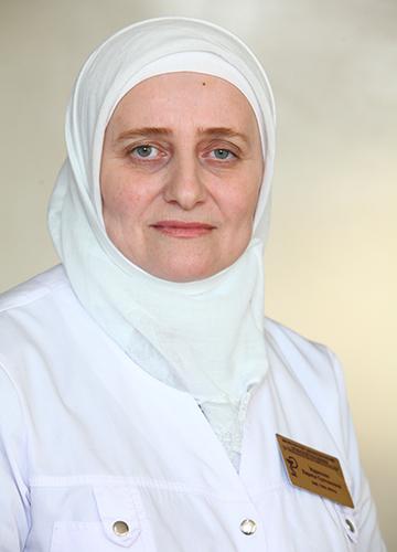 ИДРИСОВА ЛАРИСА СУЛТАНОВНА<br>Заместитель главного врача по поликлинике